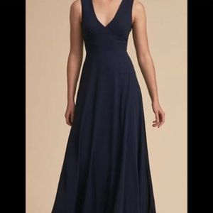 BHLDN  Dress Capulet, Navy blue SZ  small